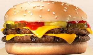 Burger King - Chicken BLT or Double Cheeseburger - £1.49