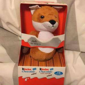 Kinder soft toy and chocs £1.25 in Co-op instore