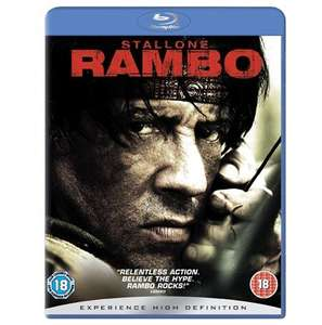 Rambo Blu-ray - £4.30 @ Zoom