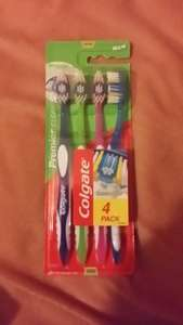 4 brushes 79p..from Home Bargains instore