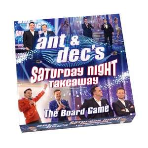 Free Replacement Ant n Dec Saturday Night Takeaway question cards from Paul Lamond