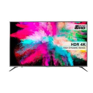 """Hisense 50M5500 LED HDR 4K Ultra HD Smart TV, 50"""" With Freeview HD & Anyview Cast, Silver £499 @ John Lewis"""