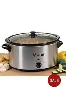 Swan SF11041 5.5-Litre Slow Cooker half price from Very