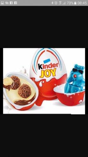 Kinder Egg Joy. £1 for 4 @ Heron Foods