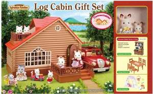 Sylvanian Families A1 Exclusive Log Cabin Gift Set With Added Value £29.99 (Prime) @ Amazon