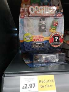 Marvel OOSHIES 4 pack 74p Tesco