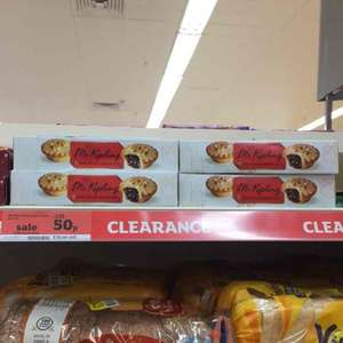 Mr Kipling 6 Mince Pies 50p @ Sainsbury's