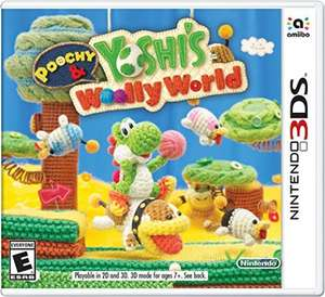 [Nintendo 3DS] Poochy & Yoshi's Woolly World - Pre-order - £29.75 @ TheGameCollection