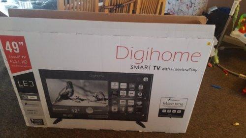 """49"""" smart tv £279 instore at tesco Bradley Stoke bristol"""