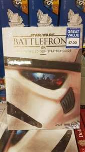 Star Wars Battlefront / Batman Arkham Knight / Black Ops 3 Collectors Edition Guide £7 each @ The works - Free c&c