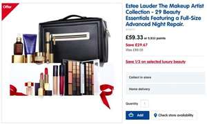 Estee Lauder - The Makeup Artist Collection £59.33 AT BOOTS NO EXTRA PURCHASE