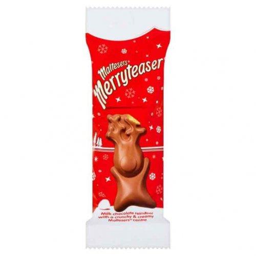 Malteser 'Merryteaser' Reindeer 29g 20p each in-store @ B&M Bargains