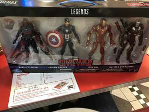 Disney Store instore Legend series Captain America Action figures £89.99 down to £19.99