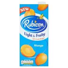 1 Litre Rubicon Light & Fruity Mango  instore @ Heron 2 for £1.00