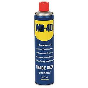Wd-40 600ml Aerosol £3.49 Click & Collect SCREWFIX