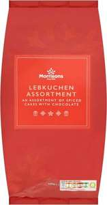 Lebkuchen Assortment 600g reduced from £2 to 50p in Morrisons Newcastle-under-Lyme