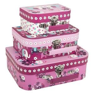 JOJO MAMAN BEBE set of 3 suitcases £7 delivered + 5.5% quidco