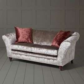 Silver sofa £266 @ tesco direct