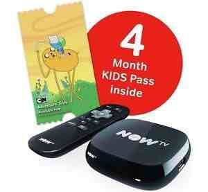 Now tv box + 4 months kids pass. £14.99 (eBay) boss_deals
