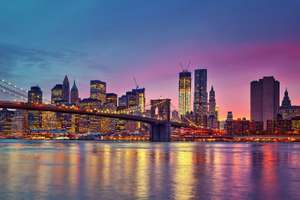 From Newcastle: Group Holiday for 4 people - 6 Nights in New York, central hotel, breakfast & free yoga classes £502.61pp @ Ebookers