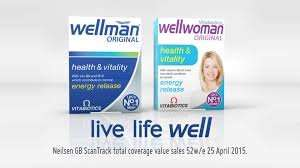 Boots Vitabiotics Wellman/Wellwoman Original Tablets - 30pk was £6.29 each, now 3 for £6.34 @ Boots