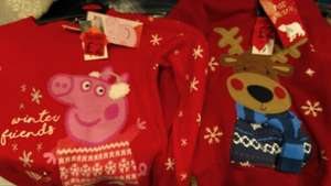 Peppa top and other Christmas clothes (very warm) dirt cheap 2.00 each! instore @ ASDA