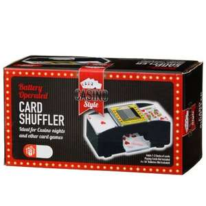 Card Shuffler Reduced to £1 in B&M! Great for Card Nights!