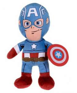Mothercare - Marvel Captain America Large Plush - £7.99 Was £29.99 (£1.50 For C&C If Order Is Under £30, Free Over £50 Or £3.95 Standard Delivery) Lots Of Big Discounts In The Toy Sale!