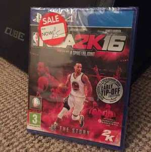 NBA 2k16 PS4 for £5 + plenty of other games reduced instore @ Asda (Farnworth)