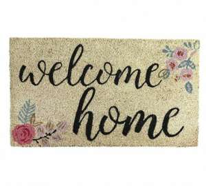 HOME Welcome Home Doormat & 2 Others @ £2.99 WAS £7.99 @ Argos (Free C&C)
