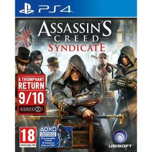 Assassins Creed Syndicate PS4 and XBOX One @ Smyths Toys for £14.99