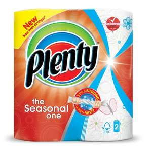 Plenty the Seasonal Ones 2 rolls £1 were £2.50 @ Wilko