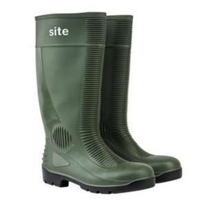 Site Trench Safety Wellington Boots £9.99 @ Screwfix