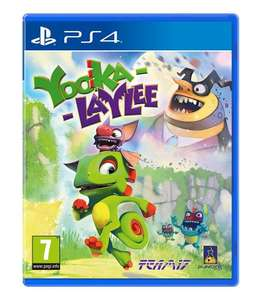 Yooka-Laylee PS4/Xbox One £29.00 (Pre-Order) @ Tesco Direct