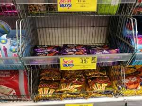 Cadbury Puddle 90g chocolate bar. £0.39 - Home Bargains