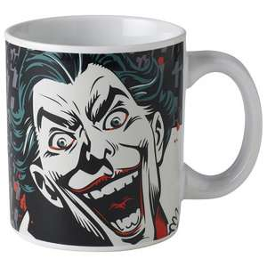 BATMAN JOKER MUG £6.99 down to £3.29 @ Lakeland - Free c&c