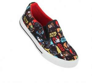 boys star wars canvas shoes £5.99 at argos *Price dropped again now £4.99*