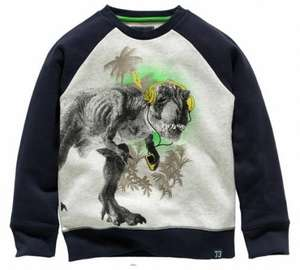 boys dinosaur sweater £3 at argos