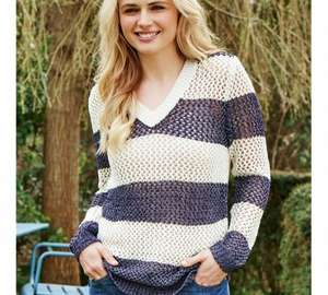 cherokee womens open knit jumper reduced from £18 to £4 at Argos