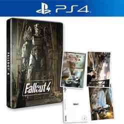 Fallout 4 Steelbook & Postcards - Only At GAME (PS4/Xbox One) £14.99 Delivered @ GAME