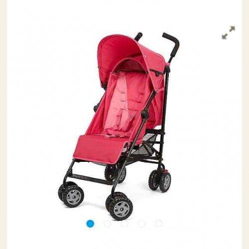 B Baby Nanu Stroller Buggie- Block Pink £39.99 @ Tesco