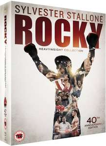 Rocky The Heavyweight Collection Blu-Ray (All 6 films + Creed sneak peek) £7 @ Tesco