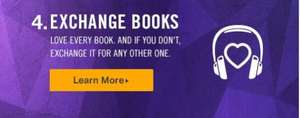 Audible - exchange your existing books for credits