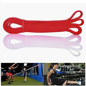 E-PRANCE Resistance Bands New Premium Latex Pull Up Exercise Band for Home Fitness, Travel, Yoga £5.88 prime / £9.87 non prime Sold by EPRANCE and Fulfilled by Amazon