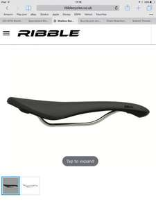 Fabric scoop saddle (shallow) Race Titanium Rails £44.09 (£60-65 elsewhere) @ Ribble cycles (white only now £40.49 with code KIT10