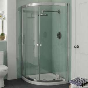4mm 900 x 900 Double Door Quadrant Shower Enclosure for £62.95 (RRP £162.95) Click & Collect @ BetterBathrooms after discount