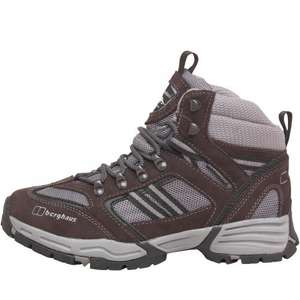 Berghaus Womens Expeditor AQ Tech Suede Hiking Boots Grey @ M&M sizes 4 & 5 (was £99.99) - £42.38 Delivered