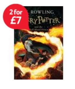 Harry Potter - 2 books for £7 or £4 each (Complete collection works out to £25) - £7 @ Tesco