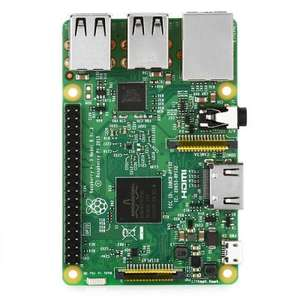 IY Raspberry Pi Model 3 B Motherboard  -  ENGLISH VERSION  GREEN £28.85 @ Gearbest