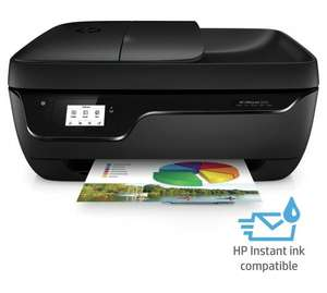 HP OfficeJet 3830 All-In-One(Print/Scan/Copy/Fax) WiFi Printer - Instant Ink Compatible - was £59.99 now £39.99 @ Amazon / Argos